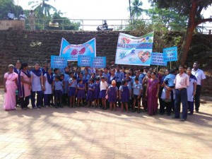 Autism Awareness rally  at Vasco to commemorate World Autism Day