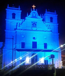 Mragao Church Goes blue in support of Autism Awareness Drive