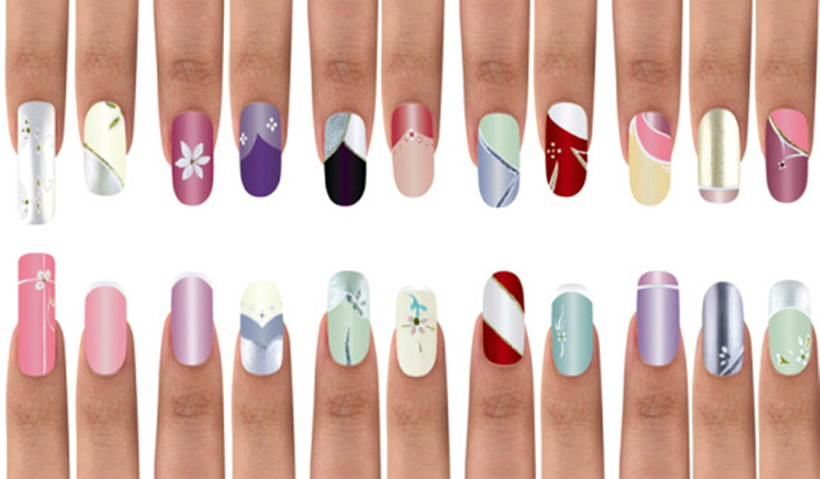 Nail Art Design At Home Home Design Ideas   Nail Art Tutorial Step By Step  For
