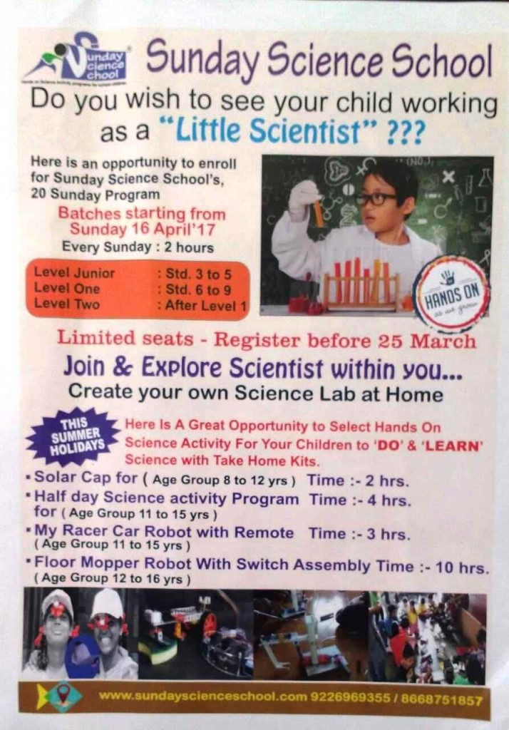 Sunday Science School Margao